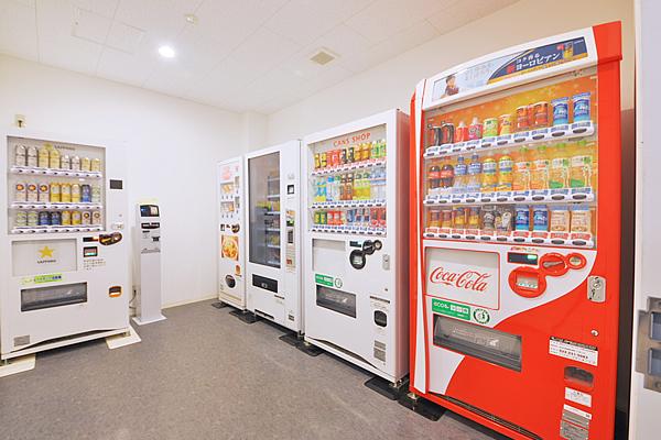バリュー・ザ・ホテル 自動販売機コーナー